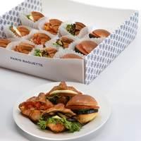 Mini Vegetarian Sandwich Platter - Paris Baguette Catering Photo from Paris Baguette