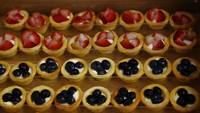 Mini Tarts Canapes - Oh's Farm Catering from Oh's Farm Catering