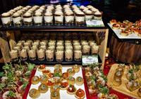 Christmas Catering Table Canapes - Oh's Farm Catering from Oh's Farm Catering
