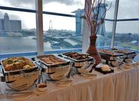 Setup Buffet for Corporate Event  - Oh's Farm Catering from Oh's Farm Catering