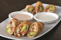 Avocado Club Egg Rolls from California Pizza Kitchen.