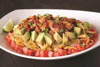 The Original BBQ Chicken Chopped with Avocado Salad from California Pizza Kitchen.