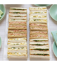 Classic Sharing Box Finger Sandwiches (40pc) from Little House of Dreams Gifts