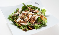 Soy Chicken Salad from Caffebene
