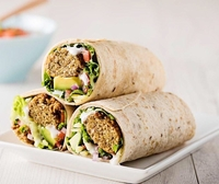 Falafel Roll from Beirut Grill