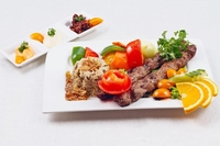 Lamb Kebab Kofta from Beirut Grill