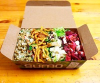 Packed Meal from Sumo Salad