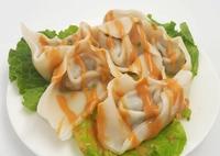 Pork & Vegetable Wonton with Sesame Paste from Cheung Hing Kee Shanghai Pan-fried Buns