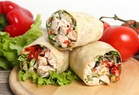 Chicken Wrap from Detox Cafe