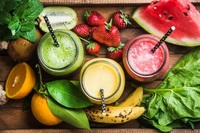 Detox Smoothies Selection from Detox Cafe