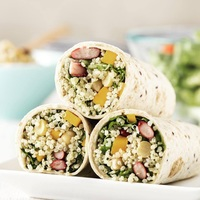 Quinoa Salad Wrap from Detox Cafe