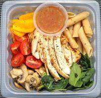 Regular Salad from Detox Cafe