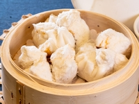 Steamed Barbecued Pork Buns (Char Siu Bao) from Dim Sum Heritage