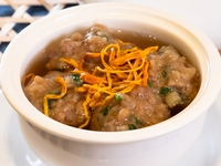 Beef Meatball with Cordyceps Flower in Broth from Dim Sum Heritage