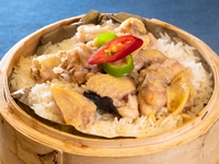 Steamed Rice with Chicken and Black Fungus from Dim Sum Heritage
