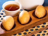 Deep Fried Sticky Rice Flour Dumplings with Minced Pork from Dim Sum Heritage