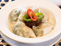 Spicy Sichuan Wontons from Dim Sum Heritage