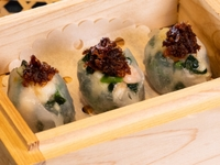 Steamed Vegetable Dumplings with XO Sauce from Dim Sum Heritage