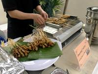 Satay live station from Rasa Rasa Halal Delights