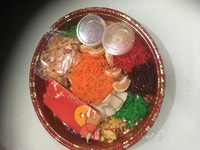 Lucky Feast Buffet (with Yu Sheng)- Customer : steven from Rasa Rasa Halal Delights