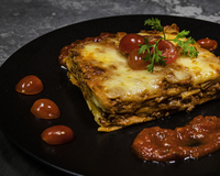 Minced Beef Lasagne from Bellini's Lasagne