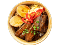 Braised Pork Belly Rice from Taiwan Treasures