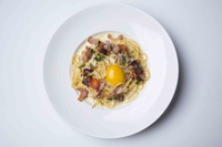 Classic Carbonara from The Grumpy Bear