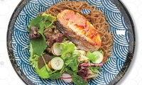 Salmon Glass Noodles - <Omoomo> Catering Photo from Omoomo