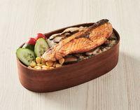 Salmon Bento from Namino Hana