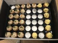 Customer Susan - Small Cakes Platter, Mini Finger Sandwich Platter,  Mixed Fruit Platter from Cedele
