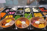 Fresh and healthy salad bowls <Urban Mix> Catering Photo from Urban Mix