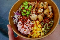 Vegetarian DIY salad bowl <Urban Mix> Catering Photo from Urban Mix
