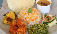 Vegetarian Briyani Set from Prata Wala