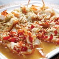 Steamed Prawn in Chilli Sauce from Liao Za Lie