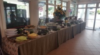 Buffet Setup from Tung Lok Catering