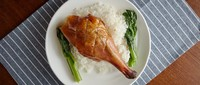 Roasted Goose Leg Rice from Sham Tseng Chan Kee Roasted Goose