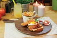 Chicken Siew Mai Burger - Streats Menu Photo from Streats