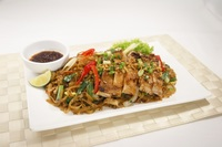 Phad Thai with Chicken Chop - Streats Menu Photo from Streats