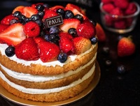Gateau aux fruits rouges - PAUL Singapore Catering Photo from PAUL