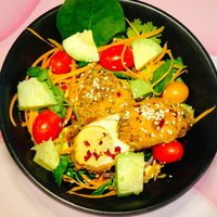 Crispy Egg Salad from Leaf Chief