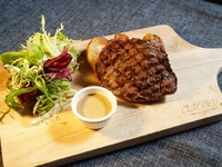 Grilled NZ Steak with Sesame Sauce from Clicked Restaurant