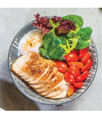 Chicken Breast Bowl from Cultures Specialty Coffee & Kitchen