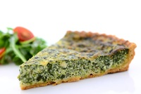 Spinach and Feta Quiche from The Rotisserie