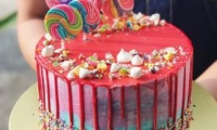 Whimsical Candyland Cake from Butter Studio