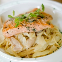 Salmon Pasta from Peace