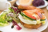 Smoked Salmon Croissant from Peace