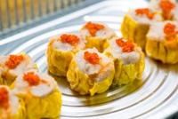 Shrimp and Pork Dumplings (Siu Mai) from Dim Dim Sum