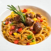 Merguez Spaghetti from Odelice