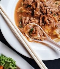 Beef Hor Fun from The Social Kitchen