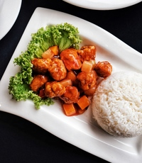 Sweet and Sour Pork with Rice from The Social Kitchen